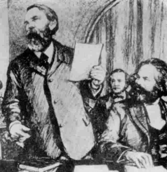 Fotos Marx Engels-Marx